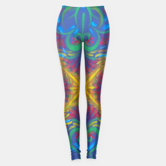 Thumbnail image of Deep Strokes Leggings, Live Heroes