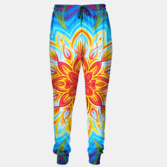 Thumbnail image of Sun flowers mandala  Sweatpants, Live Heroes