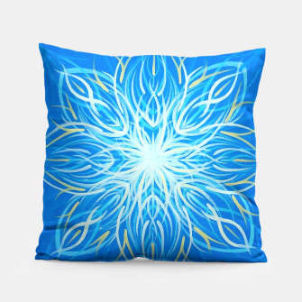 Thumbnail image of Sun Mandala Pillow, Live Heroes