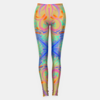 Thumbnail image of Creamsicle  Leggings, Live Heroes
