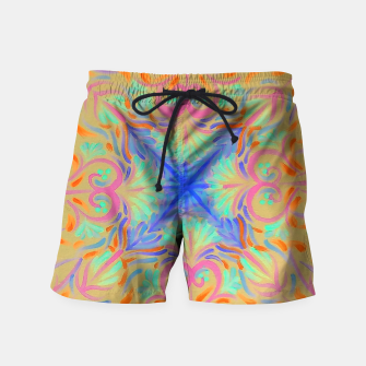 Thumbnail image of Creamsicle  Swim Shorts, Live Heroes