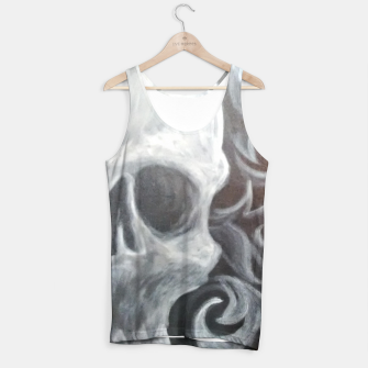 Thumbnail image of Skull with filigree Tank Top, Live Heroes