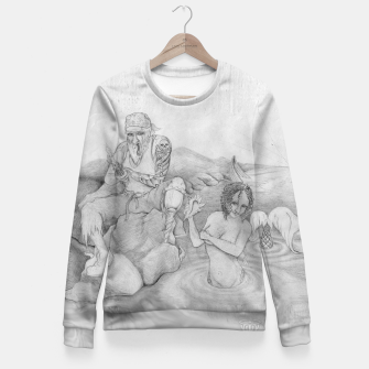 Thumbnail image of Sirens gift Fitted Waist Sweater, Live Heroes