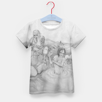 Thumbnail image of Sirens gift Kid's T-shirt, Live Heroes