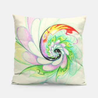 Thumbnail image of Color Swirl Pillow, Live Heroes