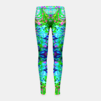 Thumbnail image of Alien Eyes Girl's Leggings, Live Heroes