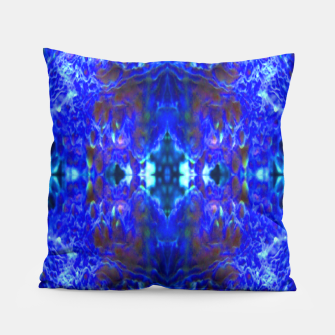Thumbnail image of Blue bulbs 1 Pillow, Live Heroes