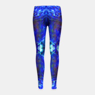 Thumbnail image of Blue bulbs 1 Girl's Leggings, Live Heroes