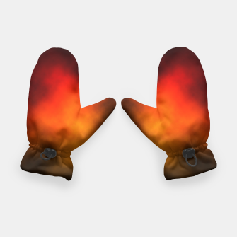 Thumbnail image of Red-Orange Nebula Gloves, Live Heroes