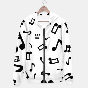 Thumbnail image of 4 Notes Hoodie, Live Heroes