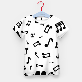Thumbnail image of 4 Notes Kid's T-shirt, Live Heroes