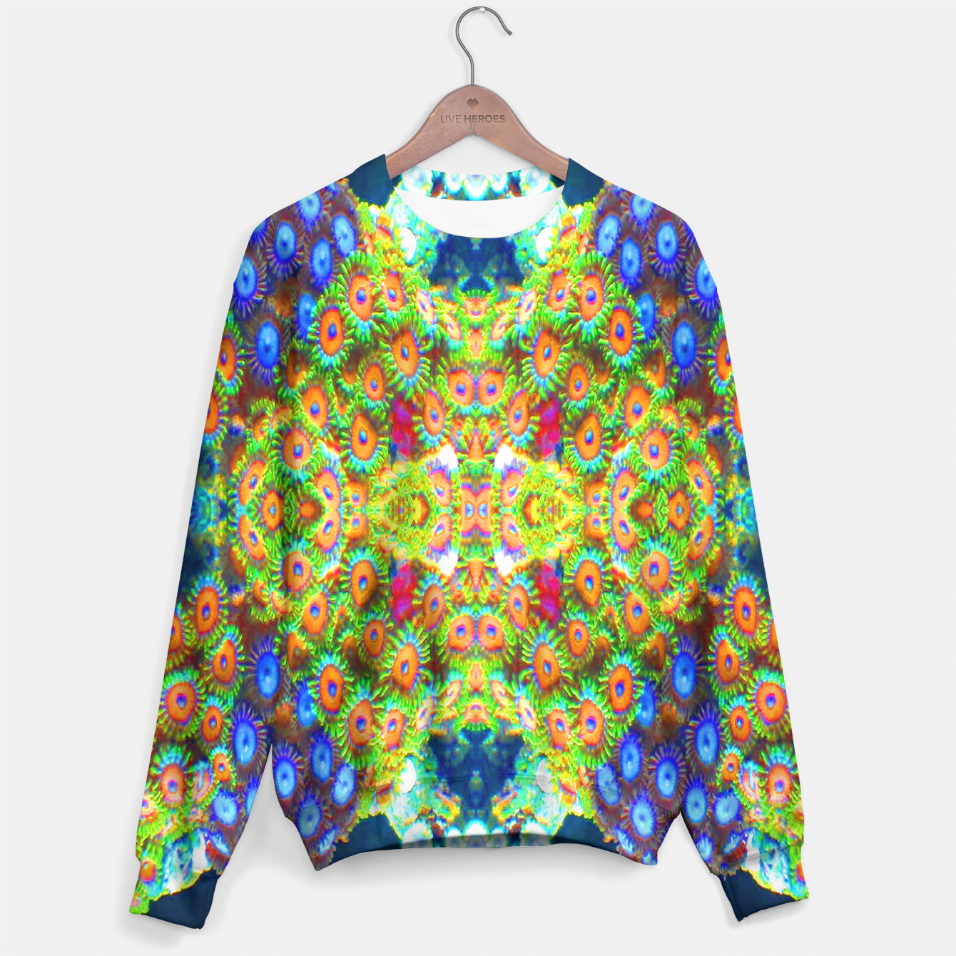 Image of Zoanthind Time Sweater - Live Heroes
