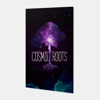Thumbnail image of Cosmic Roots Canvas, Live Heroes