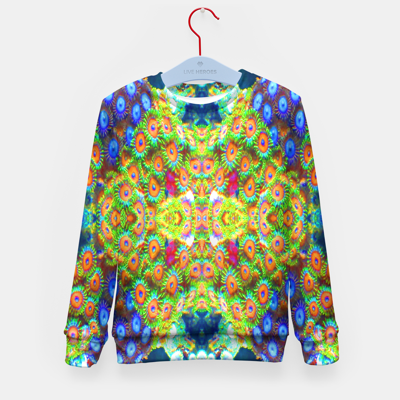 Image of Zoanthind Time Kid's Sweater - Live Heroes