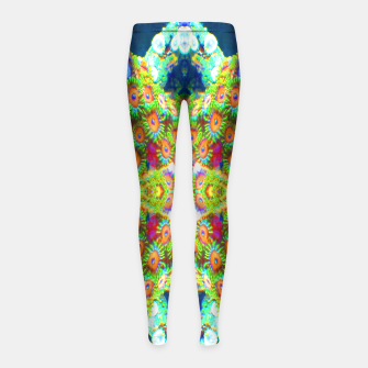 Thumbnail image of Zoanthind Time Girl's Leggings, Live Heroes