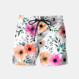 Thumbnail image of Papaver Rhoeas Swim Shorts, Live Heroes