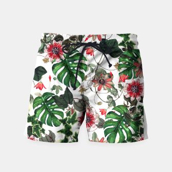 Thumbnail image of Tropical Swim Shorts, Live Heroes