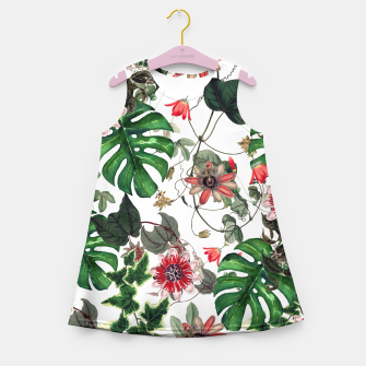 Thumbnail image of Tropical Girl's Summer Dress, Live Heroes