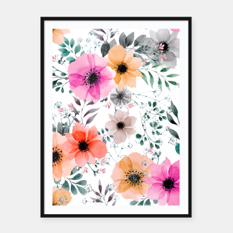 Thumbnail image of Papaver Rhoeas Framed poster, Live Heroes