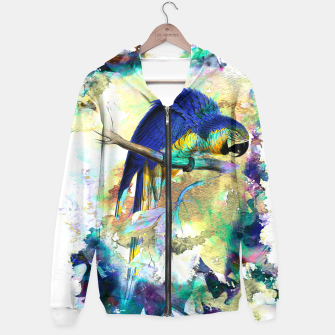 Thumbnail image of Bird Tropical Hoodie, Live Heroes