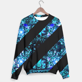 Thumbnail image of Abstract Trees Sweater, Live Heroes