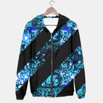 Thumbnail image of Abstract Trees Hoodie, Live Heroes