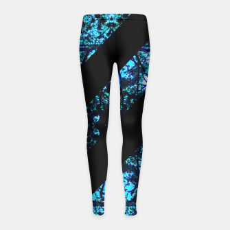 Thumbnail image of Abstract Trees Girl's Leggings, Live Heroes