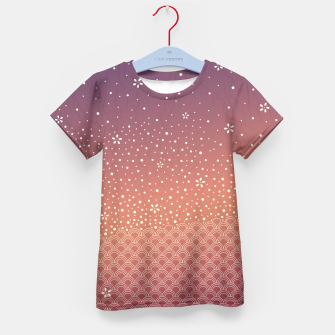 Thumbnail image of Spring Sunset Kid's T-shirt, Live Heroes