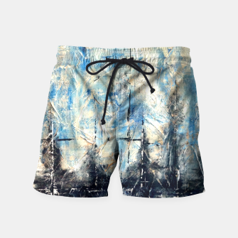 Thumbnail image of NYC Reflections Swim Shorts, Live Heroes
