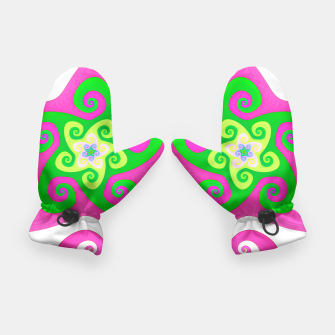 Thumbnail image of Mandala Rose Green Vert Gants, Live Heroes