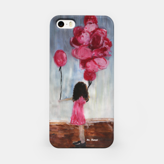 Thumbnail image of Girl with a Balloon  iPhone Case, Live Heroes