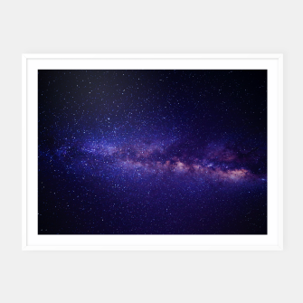 Thumbnail image of Galaxy / Nebula Framed poster, Live Heroes