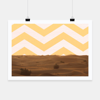 Thumbnail image of Desert Lifestyle Poster, Live Heroes