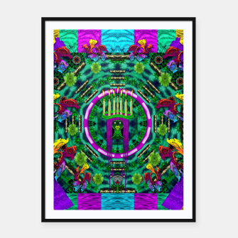 Thumbnail image of Queen of the light Framed poster, Live Heroes