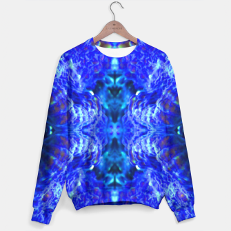 Thumbnail image of Blue Rorschach 2 Sweater, Live Heroes