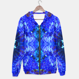 Thumbnail image of Blue Rorschach 2 Hoodie, Live Heroes