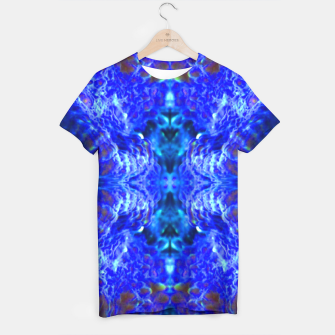 Thumbnail image of Blue Rorschach 2 T-shirt, Live Heroes