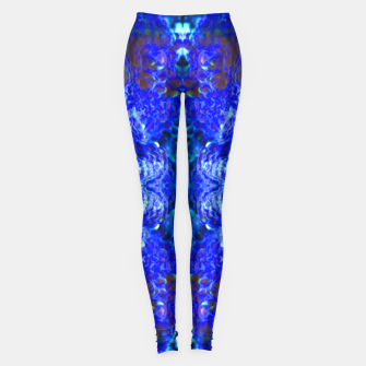 Thumbnail image of Blue Rorschach 2 Leggings, Live Heroes