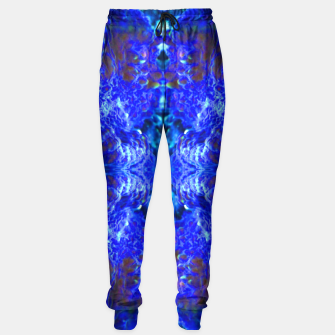 Thumbnail image of Blue Rorschach 2 Sweatpants, Live Heroes