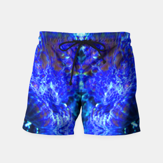 Thumbnail image of Blue Rorschach 2 Swim Shorts, Live Heroes