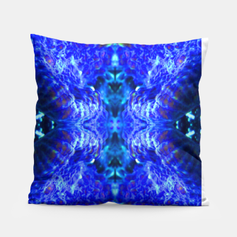 Thumbnail image of Blue Rorschach 2 Pillow, Live Heroes
