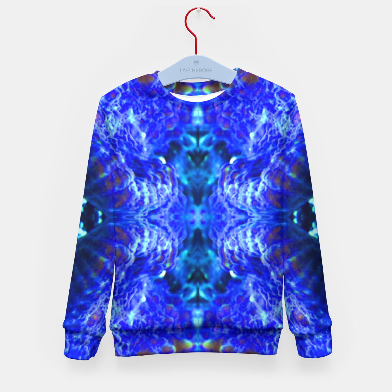 Image of Blue Rorschach 2 Kid's Sweater - Live Heroes