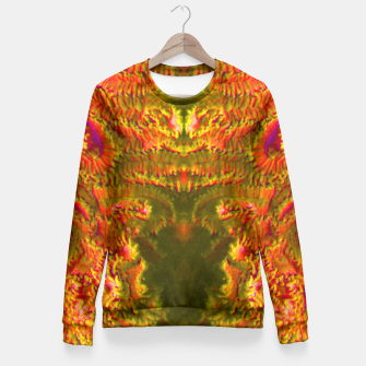 Thumbnail image of Fire tunnel Fitted Waist Sweater, Live Heroes