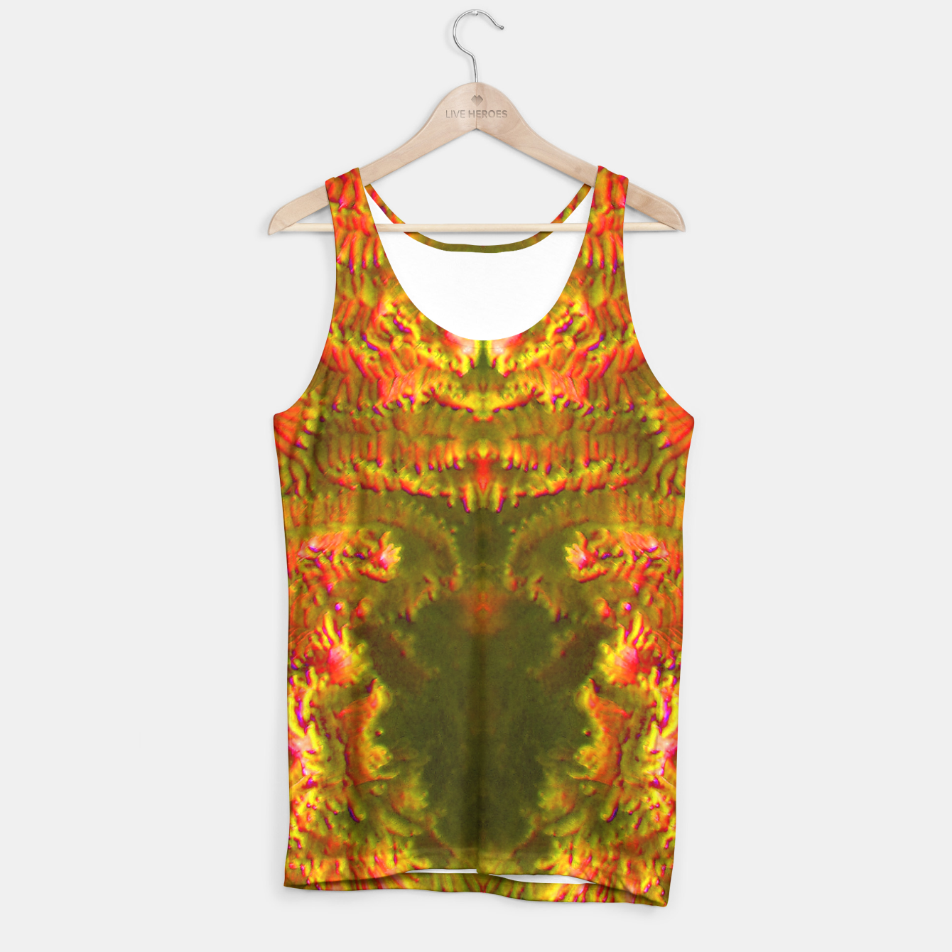 Image of Fire tunnel Tank Top - Live Heroes