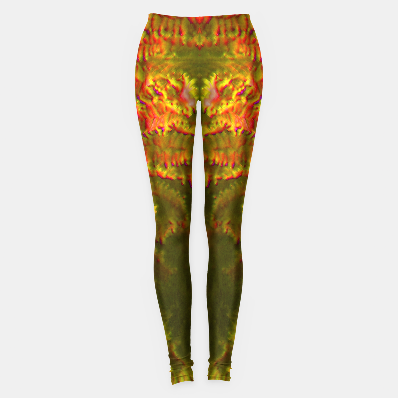 Image of Fire tunnel Leggings - Live Heroes
