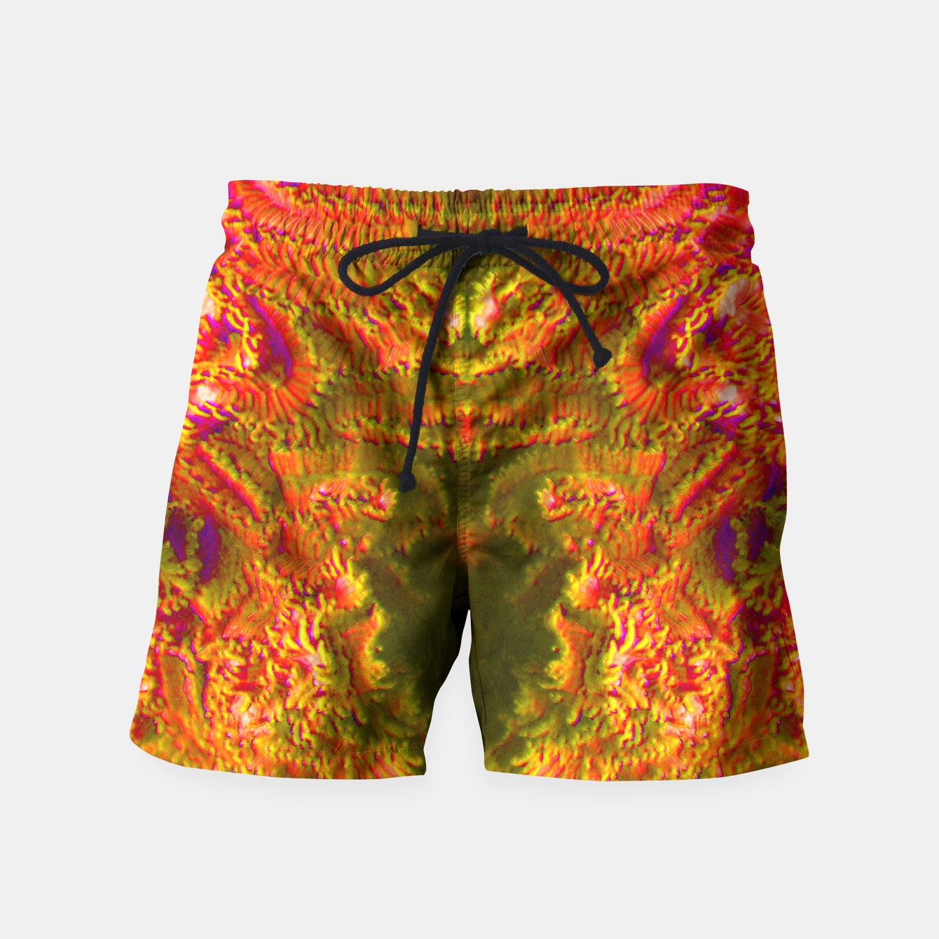 Image of Fire tunnel Swim Shorts - Live Heroes