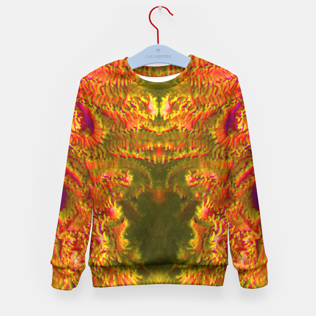 Image of Fire tunnel Kid's Sweater - Live Heroes