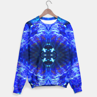 Thumbnail image of Blue Rorschach 3 Sweater, Live Heroes
