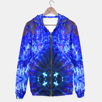 Thumbnail image of Blue Rorschach 3 Hoodie, Live Heroes