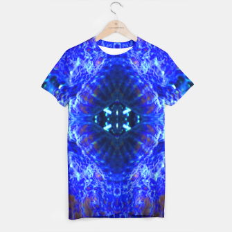 Thumbnail image of Blue Rorschach 3 T-shirt, Live Heroes